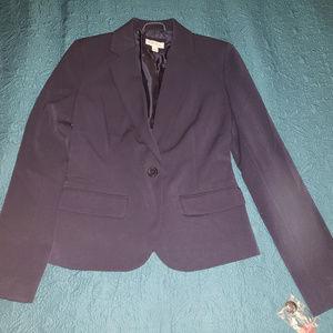 Merona size 4 navy blue business jacket